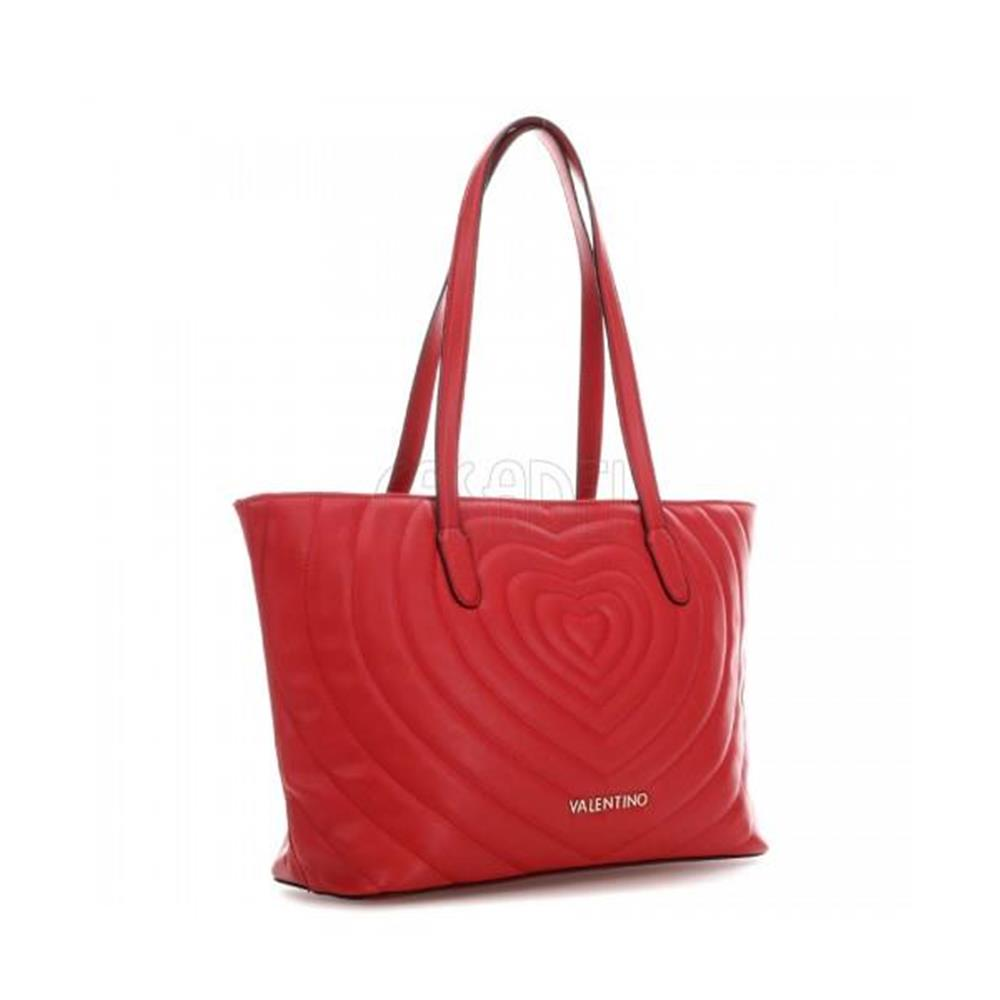 Shopping Bag Valentino by Mario Valentino Line Fiona VBS2ZO02 Red