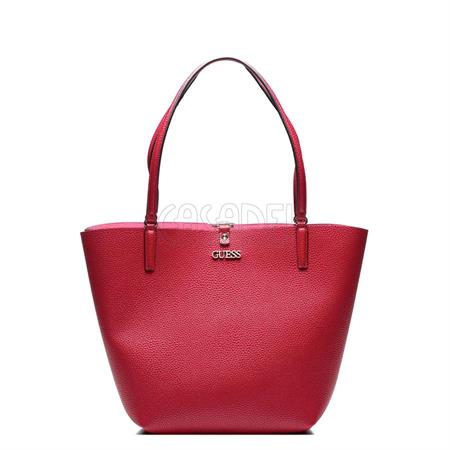 Details about Guess Janelle SP743336 Shopping Bag a Mano Burgundy Woman