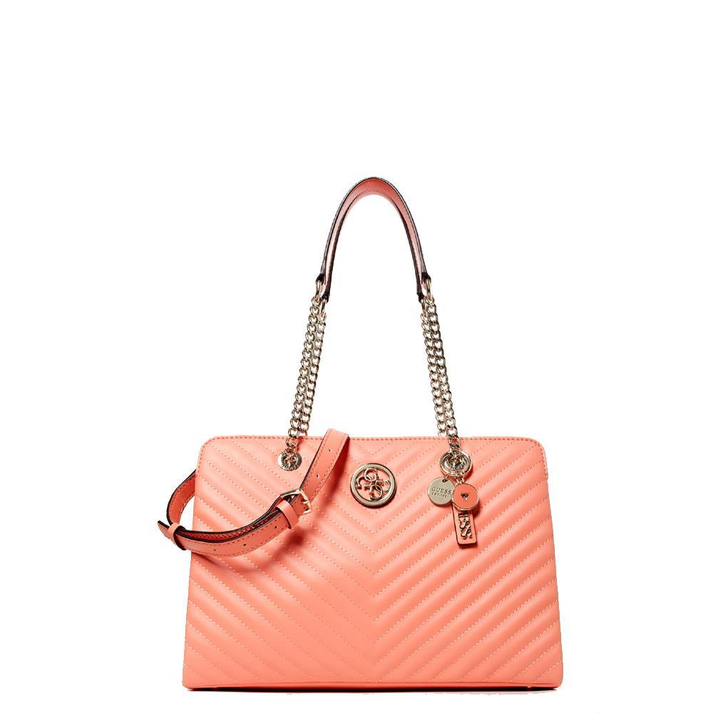 Borsa a Spalla Guess Linea Blakely VG766310 Coral