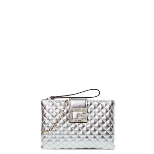 clutch-guess-linea-dazzle-mini-bg767569-silver