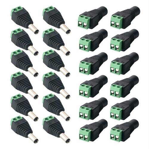 24-dc-power-jack-connectors-12-female-jack-12-male-jack-for-cctv-camera-led-strip-lights