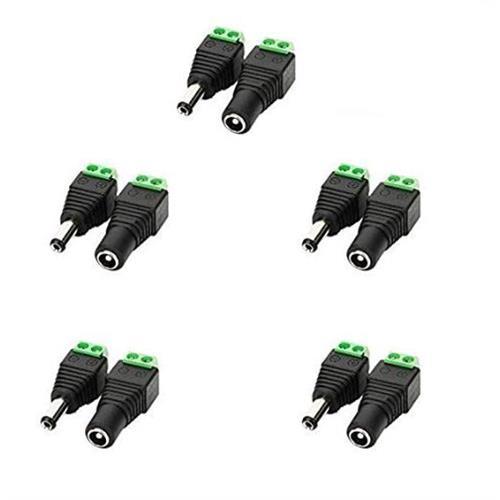 10-dc-power-jack-connectors-5-female-jack-5-male-jack-for-cctv-camera-led-strip-lights