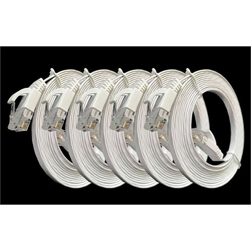 cat6-rj45-white-flat-cables-5-packs-of-3m-each